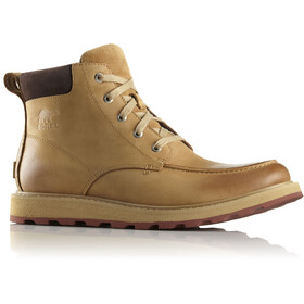 Sorel M's Madson Moc Toe Shoes Buff